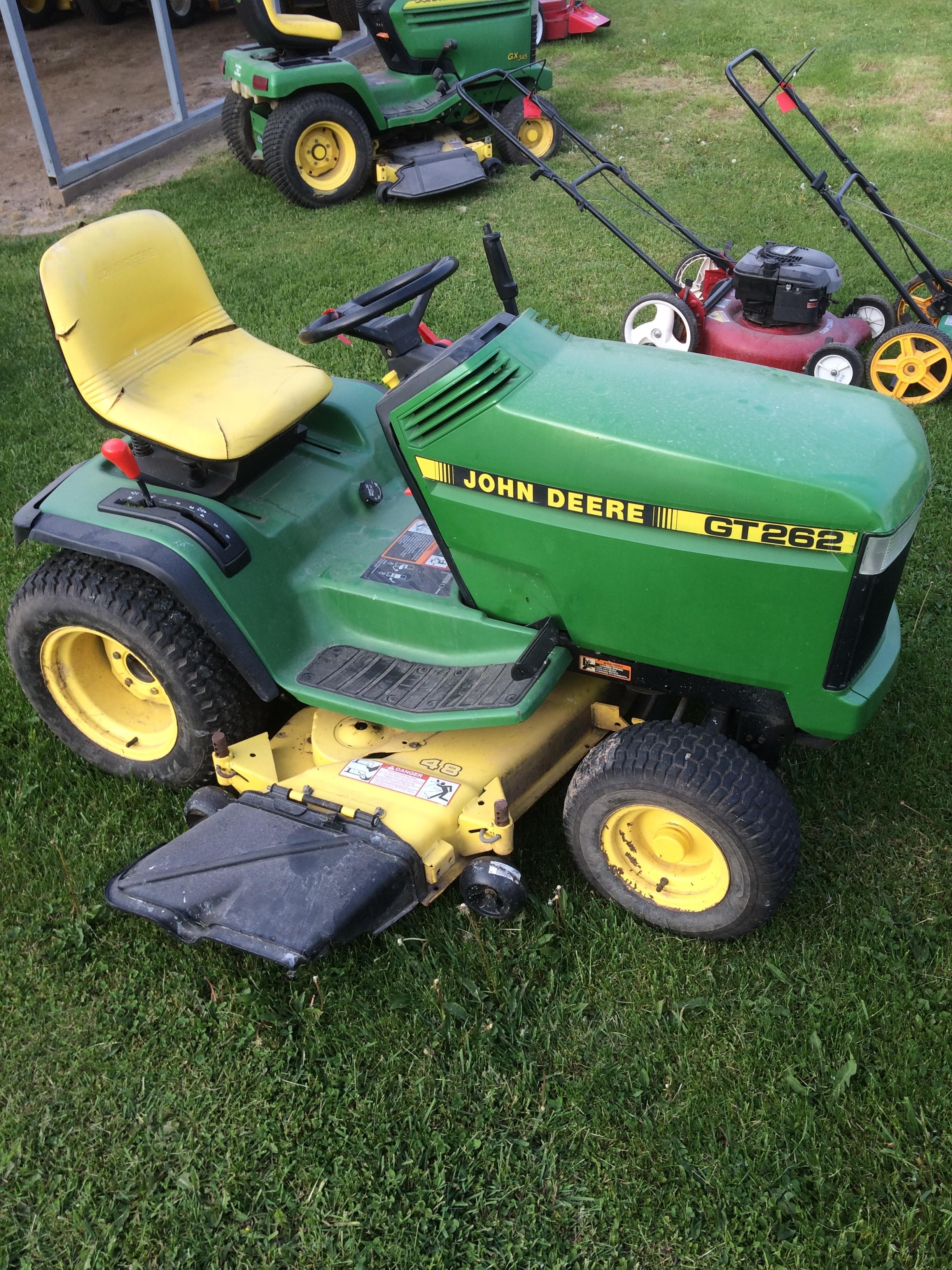 John Deere Gt262 : John deere gt doc s repair shop small engine sales
